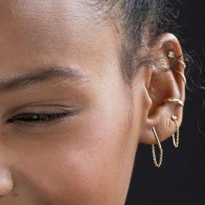 CATBIRD BALLERINA EARRINGS in ROSE GOLD!